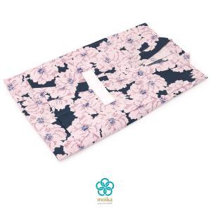 ブランド『moika』(モイカ) の キッズ浴衣   ■色 紺地にピンク  ■素材 綿100%  ■...