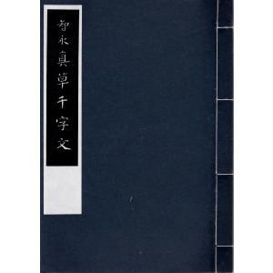 智永真草千字文 春潮社 C:並 A0420B|souiku-jp