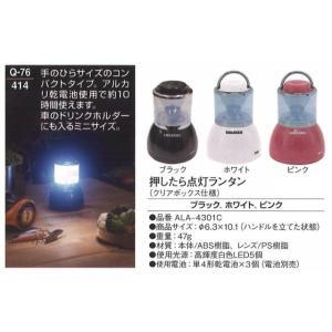 記念品 ライト 押したら点灯ランタン (クリアボックス仕様) soujuen