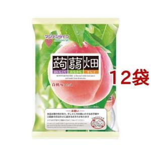 (訳あり)蒟蒻畑 白桃味 ( 25g*12コ...の関連商品10
