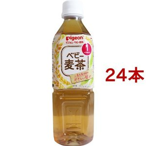 ピジョン ベビー飲料 ベビー麦茶R ( 500mL*24コセ...