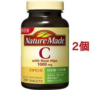 ネイチャーメイド ビタミンC ローズヒップ ( 200粒入*2コセット )/ ネイチャーメイド(Nature Made)