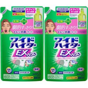 ワイドハイター EXパワー 漂白剤 詰め替え 大サイズ ( 880mL*2コセット )/ ワイドハイター ( 漂白剤 抗菌 消臭 つめかえ 詰替 液体 まとめ買い )