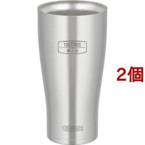 サーモス 真空断熱タンブラー JDE-600 S ( 2コセット )/ サーモス(THERMOS) ( サーモス タンブラー ステンレス セット 600ml )|soukai