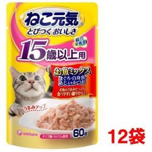 ねこ元気 総合栄養食 パウチ 15歳以上 お魚...の関連商品9