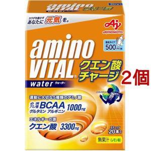 アミノバイタル クエン酸チャージウォーター ( 20本入*2コセット )/ アミノバイタル(AMINO VITAL)|soukai