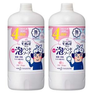 ビオレu 薬用泡ハンドソープ フルーツの香り つめかえ用 ( 800mL*2コセット )/ ビオレU(ビオレユー) soukai