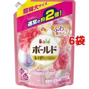 ボールド 香りのサプリインジェル プラチナフローラル&サボンの香り 詰替え用 超特大 ( 1.26kg*6コセット )/ ボールド