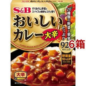 なっとくのおいしいカレー 大辛 ( 180g*6コセット )/ S&B おいしいカレー|soukai