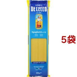 ディチェコ No.12 スパゲッティ ( 500g*5コセット )/ ディチェコ(DE CECCO)