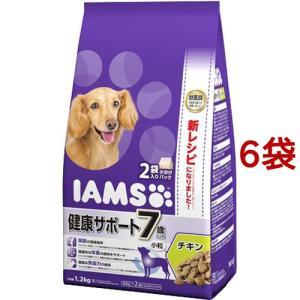 アイムス 7歳以上用 健康サポート チキン 小粒 ( 1.2kg*6コセット )/ アイムス