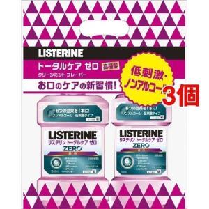 【在庫限り】薬用リステリン トータルケアゼロ 1L+500mL お買い得セット ( 1セット*3コセット )/ LISTERINE(リステリン)