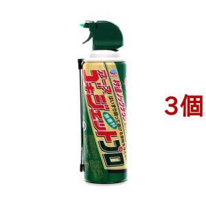 ゴキジェットプロ ゴキブリ用殺虫スプレー ( 450ml*3コセット )/ ゴキジェットプロ|soukai