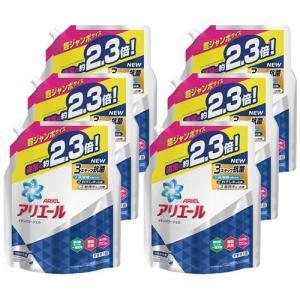 アリエール 洗濯洗剤 液体 イオンパワージェル 詰め替え 超ジャンボ ( 1.62kg*6コセット ...