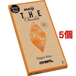 明治 ザ・チョコレート 華やかな果実味 エレガントビター ( 3枚入*5コセット )|soukai