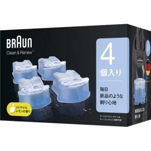 ブラウン クリーン&リニューシステム専用 洗浄液 カートリッジ CCR4 CR ( 4コ入 )/ ブラウン(Braun) ( 【201304mama_papa】 )|soukai