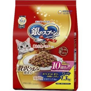 銀のスプーン 贅沢うまみ仕立て 腎臓の健康維持用 10歳が近づく頃から お魚づくし ( 1.3kg )/ 銀のスプーン|soukai