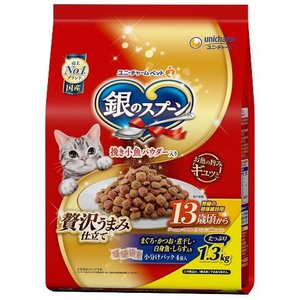 銀のスプーン 贅沢うまみ仕立て 腎臓の健康維持用 13歳が近づく頃から お魚づくし ( 1.3kg )/ 銀のスプーン|soukai