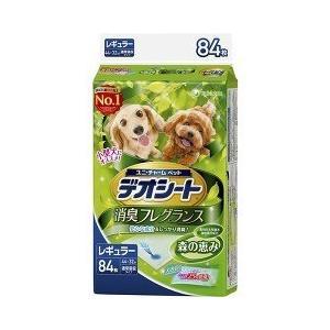 デオシート ふんわり香る 消臭フレグランス 森の恵み レギュラー ( 84枚入 )/ デオシート
