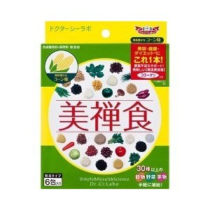 ドクターシーラボ 美禅食 コーン味 ( 16g*6包 )/ ドクターシーラボ(Dr.Ci:Labo)
