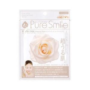ピュアスマイル エッセンスマスク 030 ホワイトローズ ( 1枚入 )/ ピュアスマイル(Pure Smile)