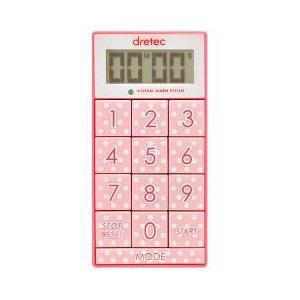 ドリテック デジタルタイマー スリムキューブ ピンク T-520PK ( 1コ入 )/ ドリテック(...