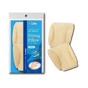 フィッティングピロー 土踏まず枕 アイボリー 女性用 ( フリーサイズ*1足(2枚)入 )/ フィッティングピロー|soukai