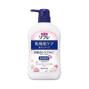 薬用ソフレ 乾燥肌ケアボディソープ ( 550mL )/ ソフレ|soukai