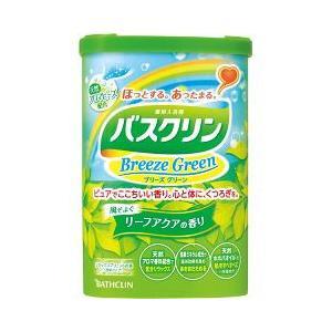 バスクリン ブリーズグリーン リーフアクアの香り ( 600g )/ バスクリン ( 入浴剤 )