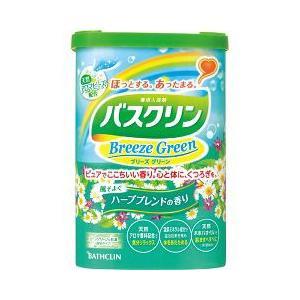 バスクリン ブリーズグリーン ハーブブレンドの香り ( 600g )/ バスクリン ( 入浴剤 )