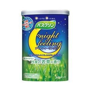 バスクリン ナイトフィーリング 気分やすらぐ月夜の若草の香り ( 600g )/ バスクリン