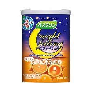バスクリン ナイトフィーリング 気分なごむ 光灯る果実の香り ( 600g )/ バスクリン