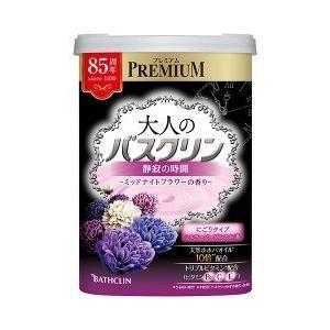 大人のバスクリン 静寂の時間 ミッドナイトフラワーの香り ( 600g )/ バスクリン
