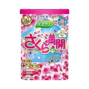 【在庫限り】バスクリン 咲け!咲け!桜満開の香り ( 600g )/ バスクリン