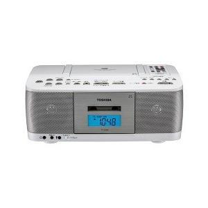 東芝 CDラジオカセットレコーダー ホワイト TY-CDK9(W) ( 1台 )/ 東芝(TOSHIBA) soukai