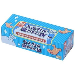 うんちが臭わない袋BOS(ボス) ペット用 SSサイズ ( 200枚入 )/ 防臭袋BOS