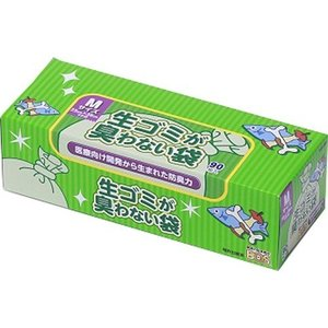 生ゴミが臭わない袋BOS(ボス) 生ゴミ用  箱型 Mサイズ ( 90枚入 )/ 防臭袋BOS|soukai