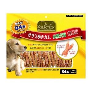 デイリーセレクション ササミ巻きガム 小型犬用 超徳用 ( 84本入 )/ R&D デイリーセレクション(DAILY SELECTION) ( ササミ )