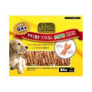 デイリーセレクション ササミ巻き ソフトガム 小型犬用 超徳用 ( 84本入 )/ R&D デイリーセレクション(DAILY SELECTION)