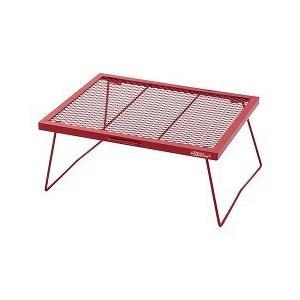 送料無料(北海道・沖縄除く)/テントファクトリー スチールワークス FDテーブル 600 RED(T...
