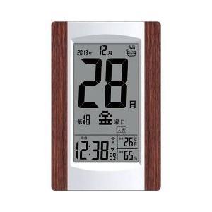 アデッソ デジタル日めくり電波時計 KW925...の関連商品8