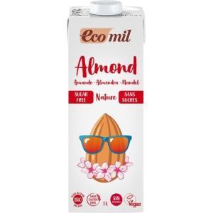 エコミル 有機アーモンドミルク ストレート 無糖 ( 1L ...