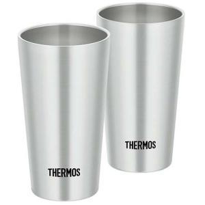 サーモス 真空断熱タンブラー ステンレス JDI-300P S ( 2コ入 )/ サーモス(THERMOS)|soukai