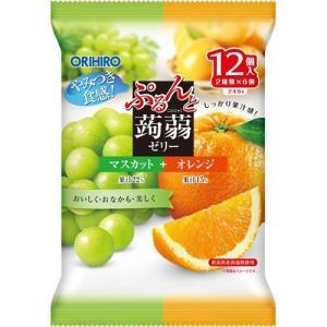 ぷるんと蒟蒻ゼリー パウチ マスカット+オレン...の関連商品4