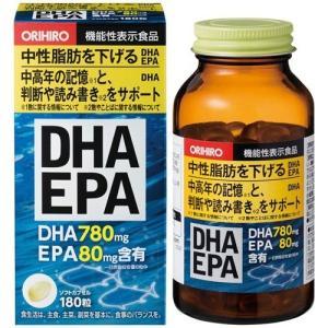 オリヒロ DHA EPA ( 180粒 )/ オリヒロ(サプリメント)|soukai