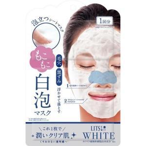 リッツ ホワイト もこもこ 白泡ブライトニングマスク ( 1枚入 )/ リッツ(化粧品) ( パック...