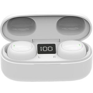 E-SELECT Bluetooth5.0 フルワイヤレス イヤホン ES-TWS2BTホワイトWH ( 1個 )|soukai