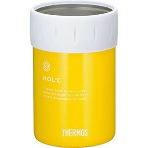 サーモス 保冷缶ホルダー イエロー JCB-351 Y ( 1コ入 )/ サーモス(THERMOS) ( 350ml )|soukai