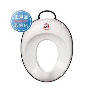 ベビービョルン トイレットトレーナー ホワイトブラック 058028 ( 1コ入 )/ ベビービョルン(BABY BJORN) ( 子供用品 )