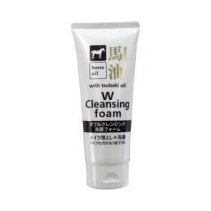 馬油 ダブルクレンジング洗顔フォーム ( 130g )